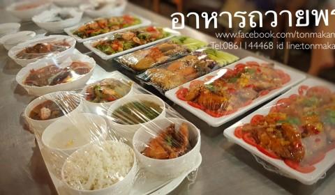 อาหารสำหรับถวายพระที่วัดกะทุ่มเสือปลา บริการถึงที่โดยพ่อครัวแมว
