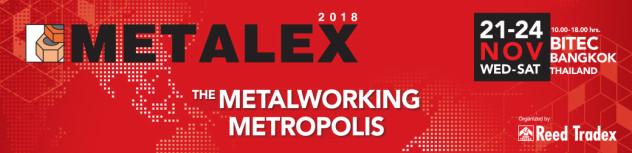งาน metalex 2018 ไบเทคบางนา