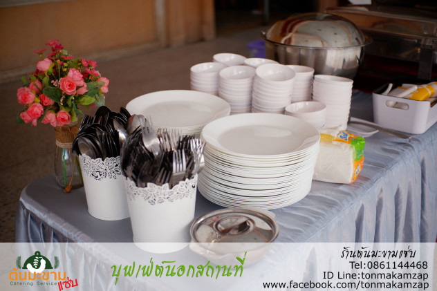 catering นอกสถานที่ จัดเลี้ยงด้วยอาหารบุฟเฟ่ต์ วัดตำหรุ บางปู