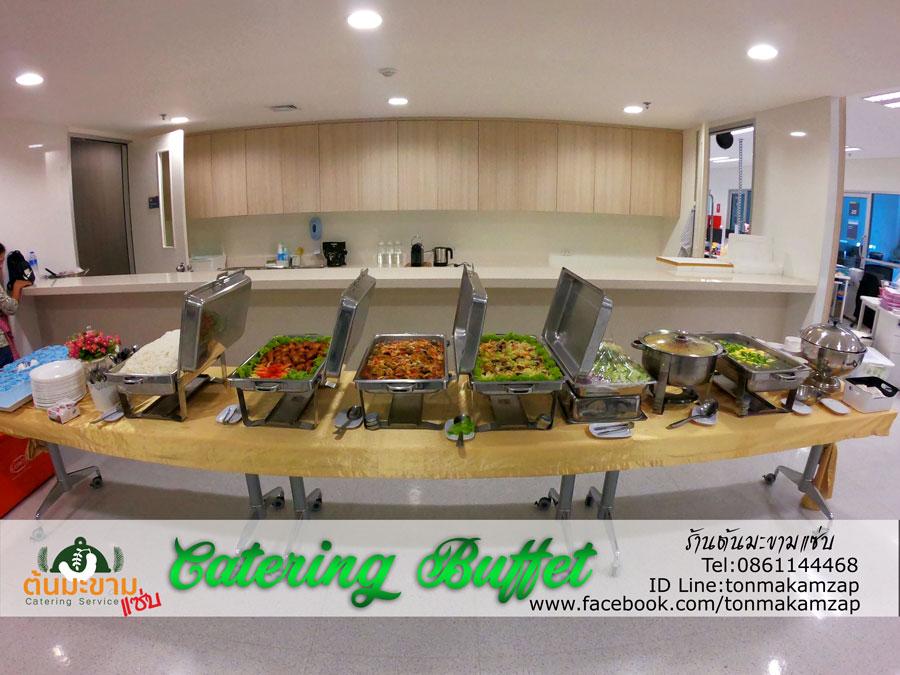 CateringBuffet จัดเลี้ยงนอกสถานที่ โรงพยาบาลรามาบางพลี