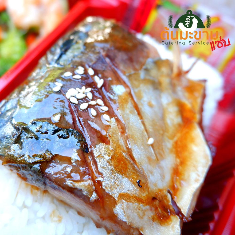 ข้าวปลาซาบะเทริยากิ